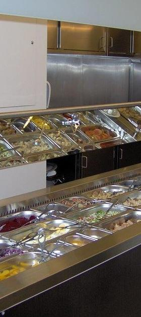 Buffet refrigerado